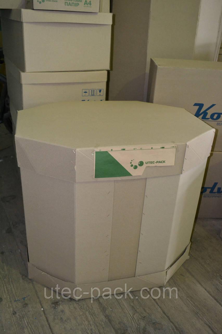 Крупногабаритная гофротара, октабины, крупная упаковка