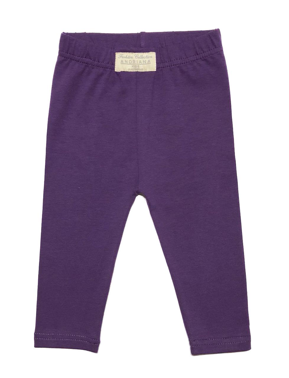 Леггинсы Andriana Kids фиолетовые