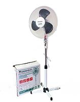Напольный вентилятор Grunhelm GFS-1621 Мощный 45Вт поворотный