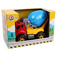 Игрушка Машина бетономешалка, пластиковые машинки для песка, Технок 5408