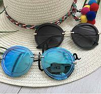 Круглые очки солнцезащитные Miu Miu