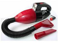Автомобильный пылесос с фонарем авто пылесос , пылесос для авто