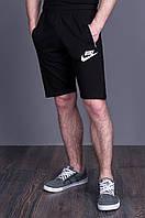 Мужские трикотажные шорты. Цвет - черный