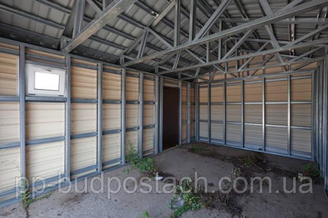 Як побудувати каркасний гараж