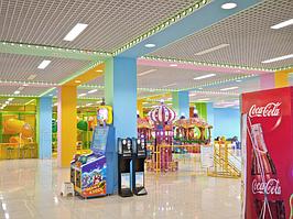 Светодиодное освещение детского торгового центра