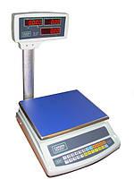 Торговые весы со стойкой ВТЕ-Центровес-6-Т2-СМ до 6 кг, фото 1