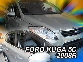 Дефлекторы окон (ветровики) Ford KUGA 5D 2008р-> 4шт (Heko)