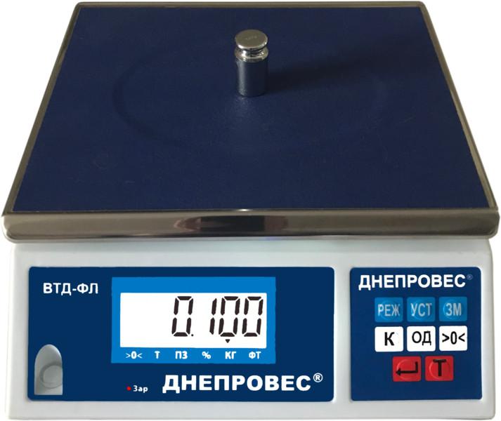 Весы фасовочные Днепровес Ф998-15/0,1Л