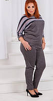 Женский костюм теплый по 56 размер  ат1320, фото 1