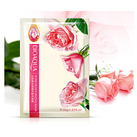 Тканевая маска для лица BioAqua с экстрактом розы  rose moisturizing mask 30g, фото 1