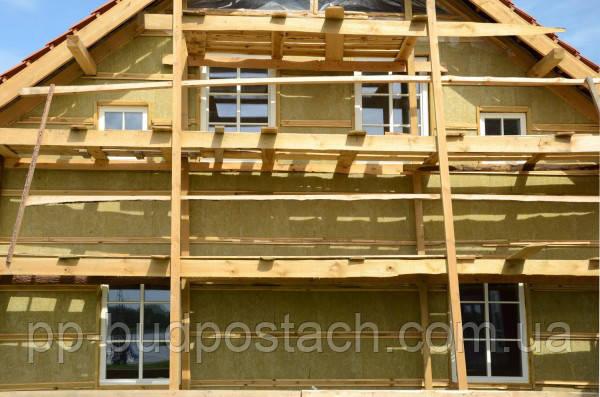 Мокре штукатурні утеплення фасадів будинків