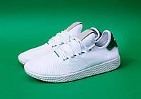 ЧоловічіКросівки Pharrell x adidas Tennis Hu White Green