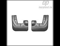 Брызговики Audi Q3 (8U) (11-) пер. к-т (NORPLAST)