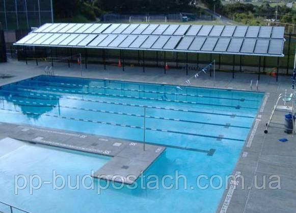 Нагрівання води в басейні