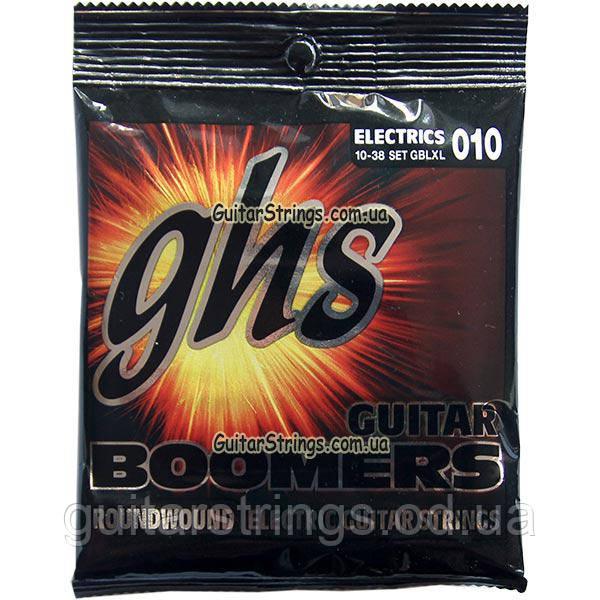 Струны GHS Boomers GBLXL 10-38 Light/Extra Light