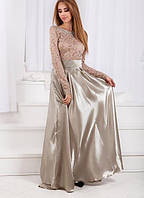 Костюм женский блузка и юбка в пол  с1307, фото 1