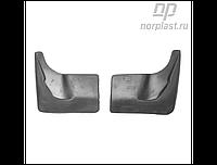 Брызговики Opel Zafira C Tourer (12-) пер. к-т (NORPLAST)