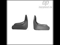 Брызговики Peugeot 308 (10-) зад. к-т (NORPLAST)