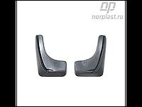 Брызговики Honda Civic 5D (06-12) зад. к-т (NORPLAST)