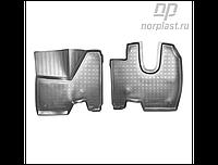 Коврики в салон Mercedes-Benz Axor 3D (2006) (грузов)\ KamAZ 5490 3D (2013) (грузов) (NORPLAST)