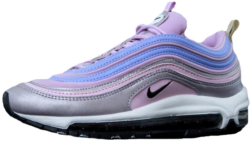 "Кроссовки  Найк Nike Air Max 97 prm ""pink violet"". ТОП Реплика ААА класса."