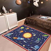Коврик для детской комнаты Planetary System 100 х 130 см Berni