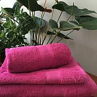 Махровое полотенце 70х140, 100% хлопок 500 гр/м2, Пакистан, Лиловый
