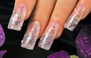 Аквариумный дизайн для ногтей.