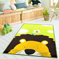 Коврик для детской комнаты Лев 100 х 130 см Berni Home