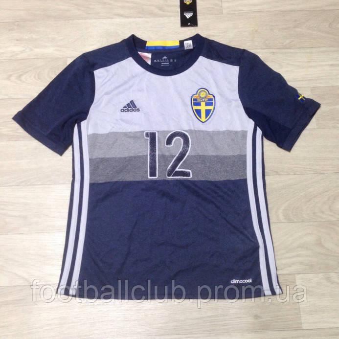 Adidas Sweden Kids SS Away Shirt 2016