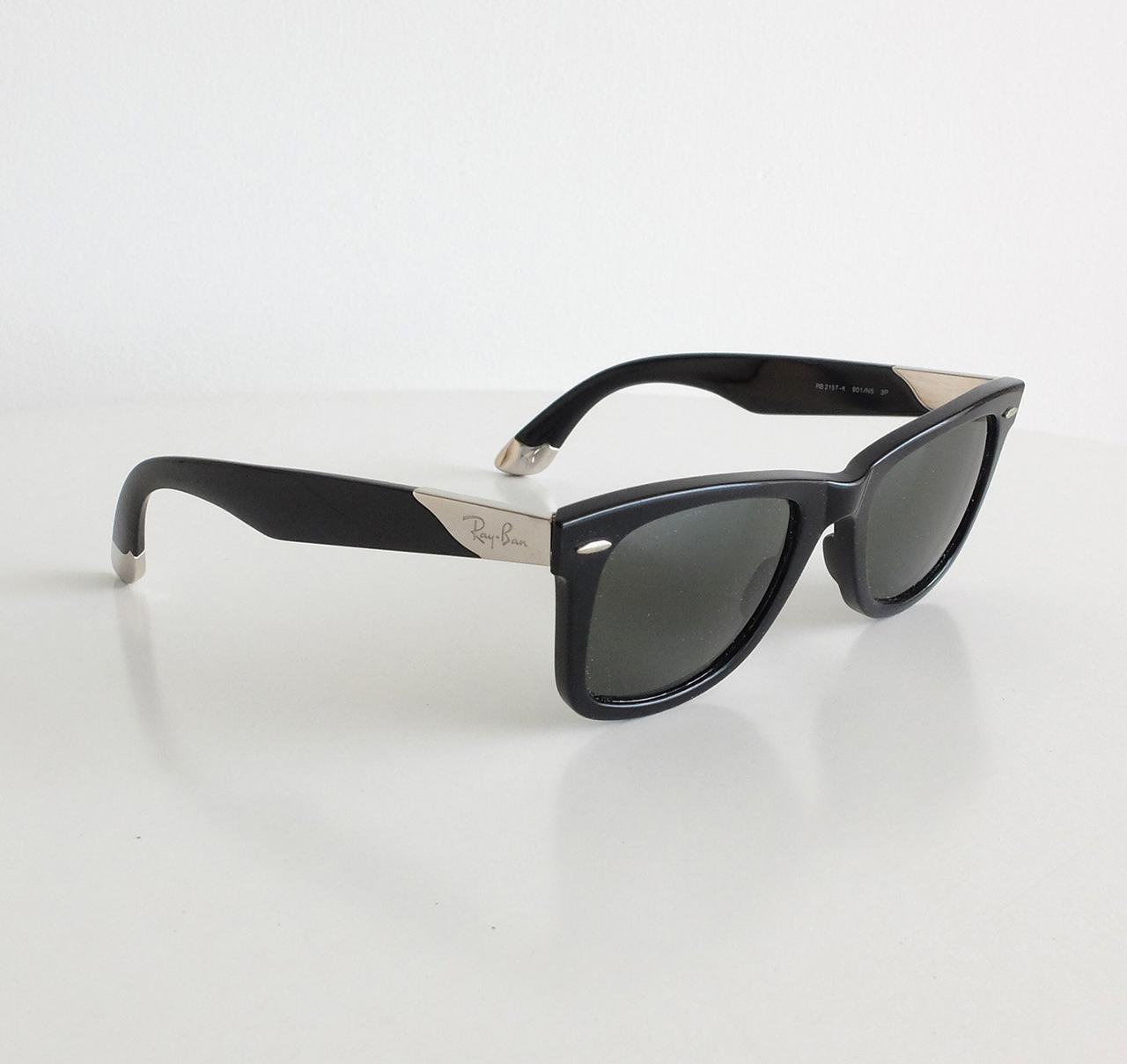 35db64fe3021 Солнцезащитные очки Ray-Ban Wayfarer 2157-k Black. Полный комплект -  TRENDMART в