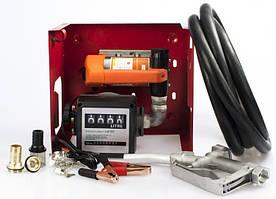 Мини АЗС для дизельного топлива на Rewolt SL011B-12V ➠ 40л/мин  бесплатная доставка*