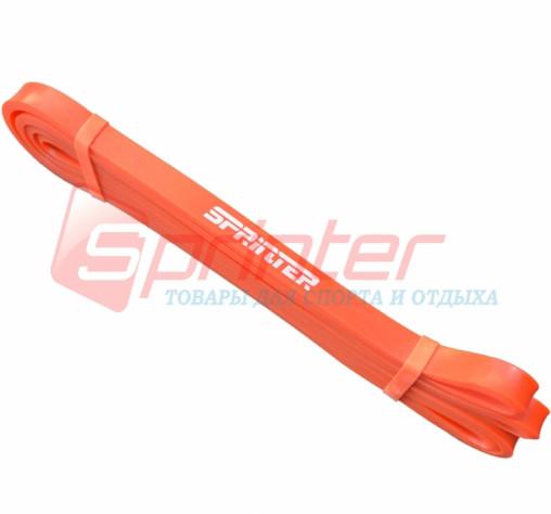Резиновая петля.1-6кг. 204*1,2*0,4 см.(оранжевая).