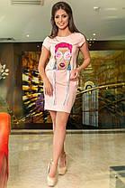 К634 Платье- туника (размеры 42-56), фото 3