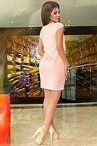 К634 Платье- туника (размеры 42-56), фото 2