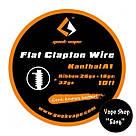 GeekVape SS Flat Clapton   Wire (Плоский,одножильный)., фото 2