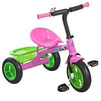 Велосипед трехколесный Profi Kids M3252-B розовый, фото 1