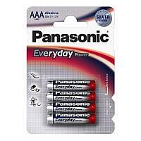 Батарейка Everyday Power AAA BLI 4 Alkaline Panasonic  (LR03REE/4BR)