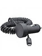 Автомобильное зарядное устройство Nokia DC-17 c Micro USB 5V/1A  Черный