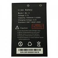 Аккумуляторная батарея Baofeng для UV-3R Std 1500mAh (BL-3)