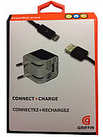 Сетевое зарядное устройство Griffin с USB Lightning  5V/1A