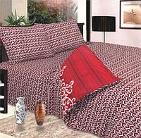Комплект постельного белья евро пододеяльник 220*200 простынь 220*240 наволочки 70*70 сублимация 063