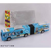 Автобус інерційний 899-68, 3 види, в пакеті 35*5*7см