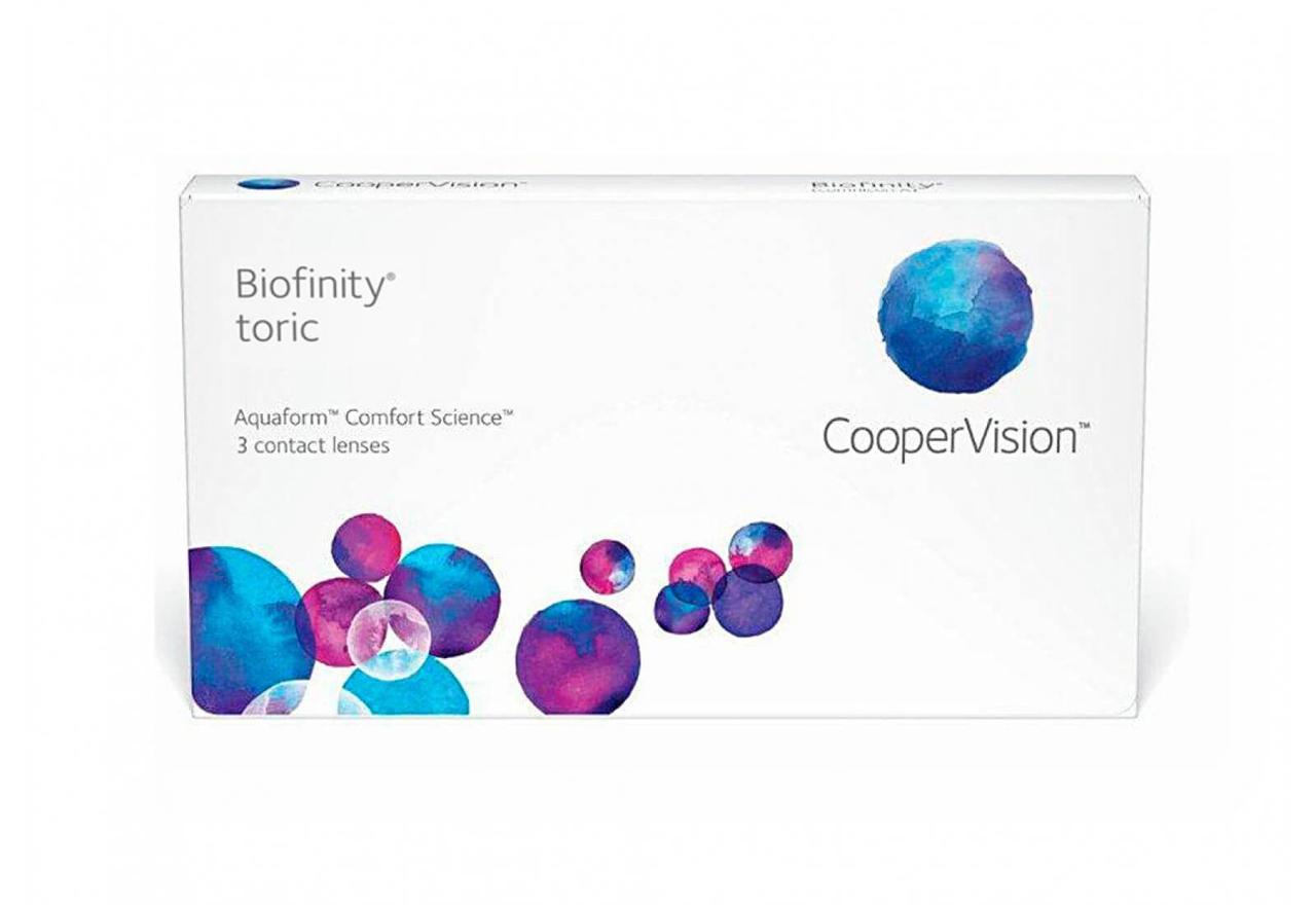 Контактные линзы Biofinity Toric CooperVision
