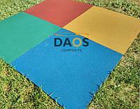 Спортивные резиновые покрытия для фитнес залов.Резиновая плитка.20 мм.