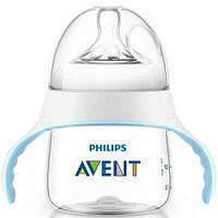 Поильник-непроливайка Philips AVENT Natural От бутылочки к чашке 4 мес+ 150 мл (SCF251/00)