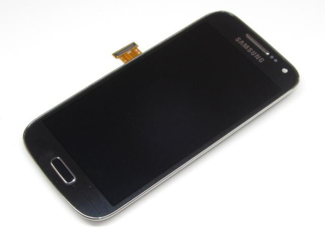 Дисплей Samsung I9190,I9192,I9195 S4 mini Dark gray with touchscreen w