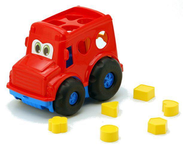 """Автобус сортер """"Бусик"""" №1: автобус з вкладишами COLORPLAST 0244"""