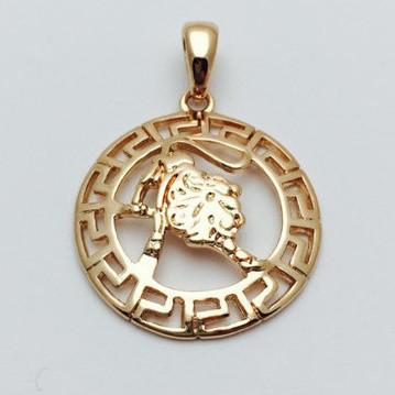 Знаки зодиака, 026 медицинская сталь+ювелирный сплав