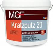 Штукатурка MGF Kratzputz 20 25 кг